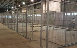 custom warehouse security cages